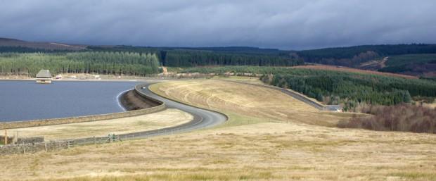 Kielder Dam, Northumberland